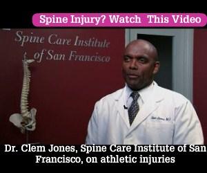 Dr  Clem Jones, Spine Care Institute of San Francisco